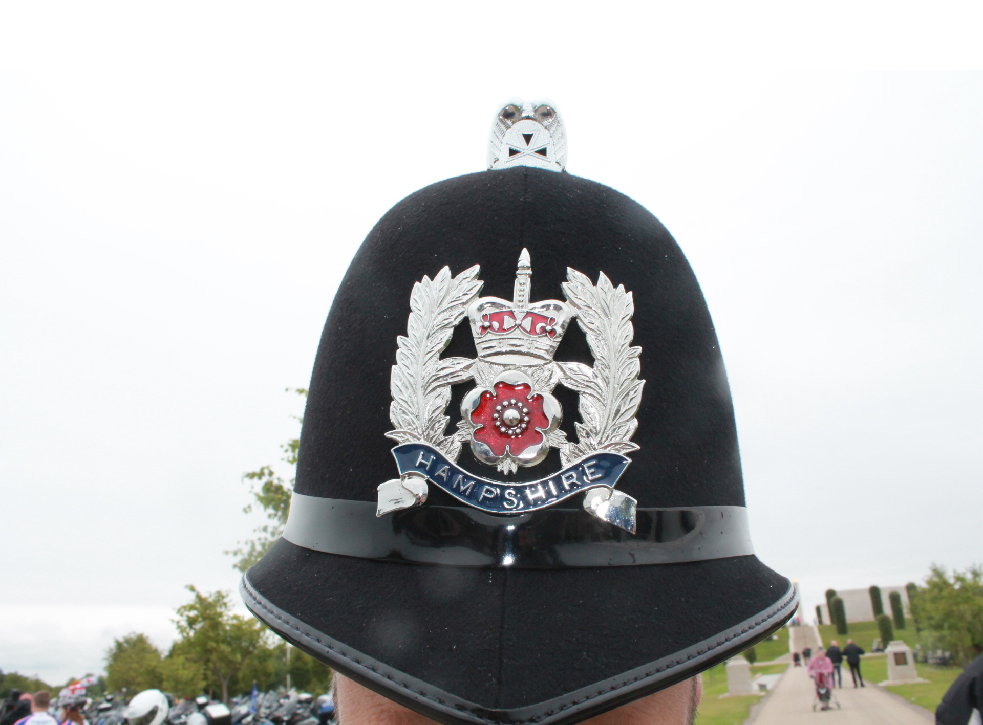 Hampshire helmet