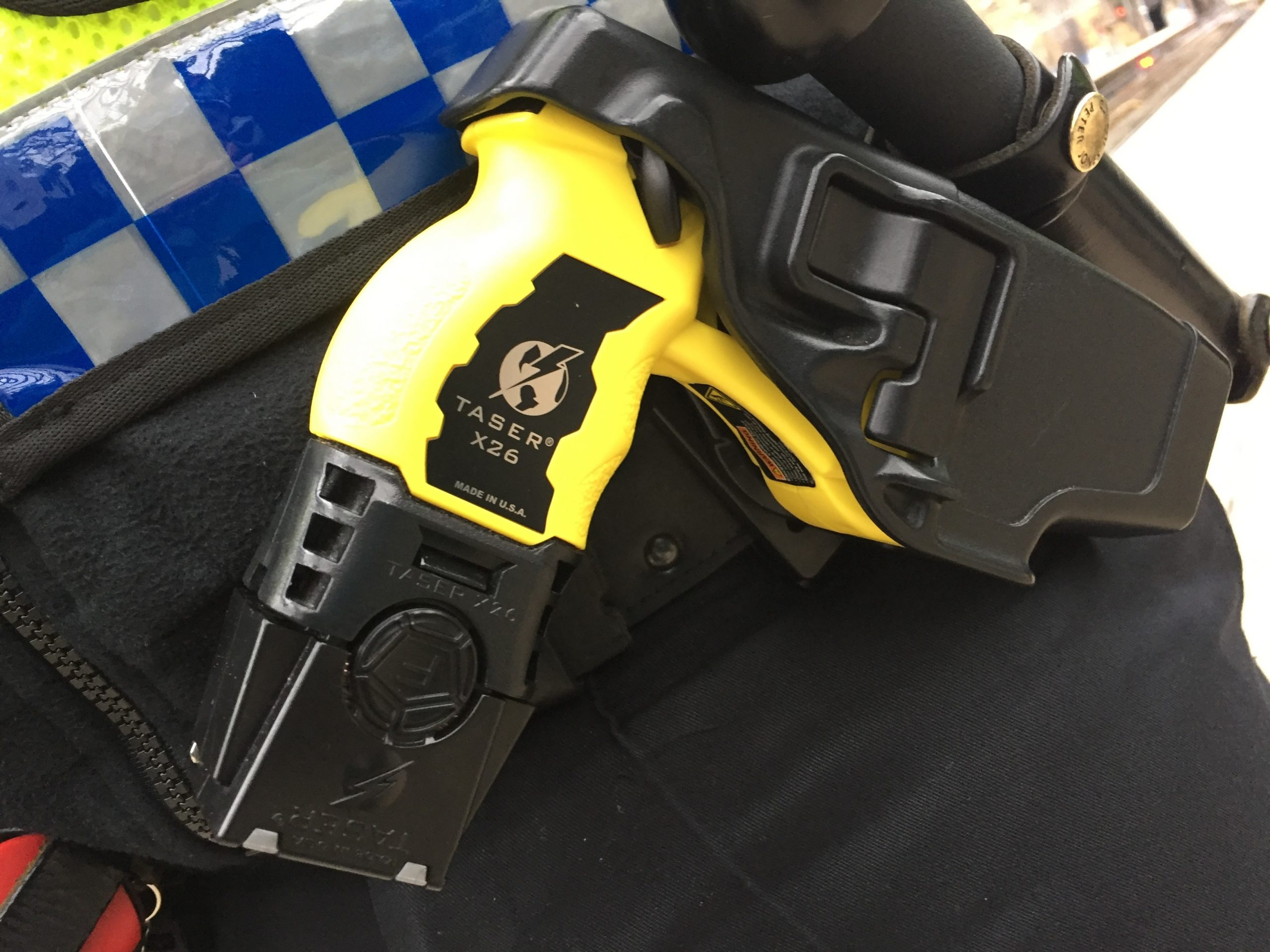 Federation highlights the benefits of Taser for police officers