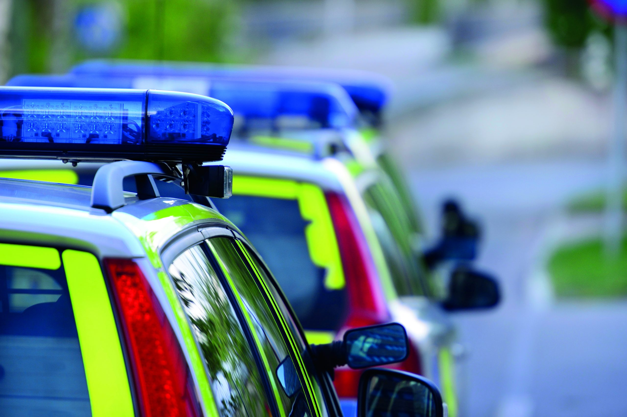 Police cars high res