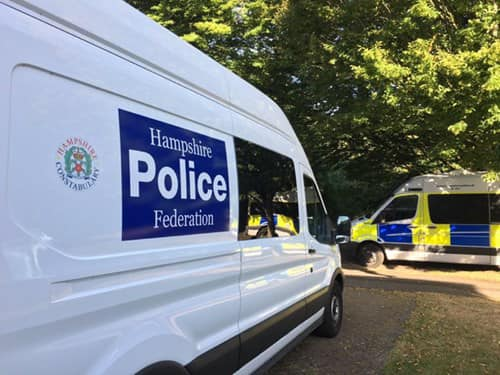 Hampshire welfare van