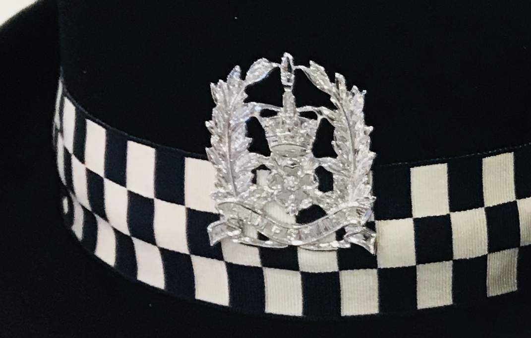 Hampshire female police officer hat