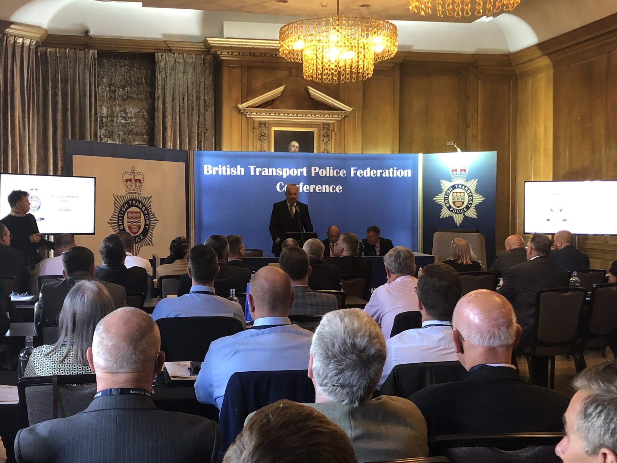 """British Transport Police Federation Conference: Pay freeze is """"a kick in the teeth"""" for police officers"""